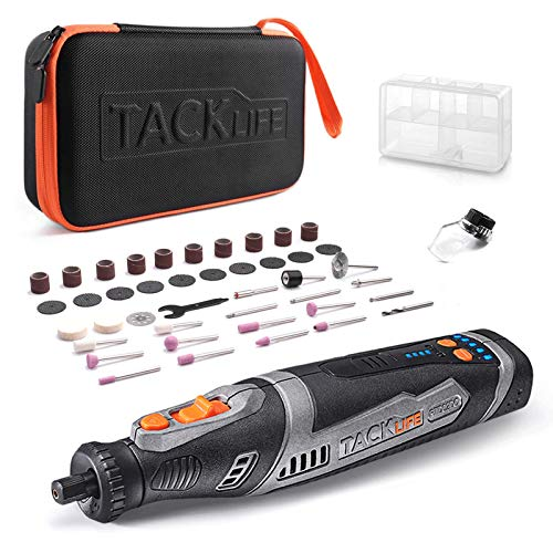 TACKLIFE Cordless Rotary Tool with 43 Accessories Now $23.97
