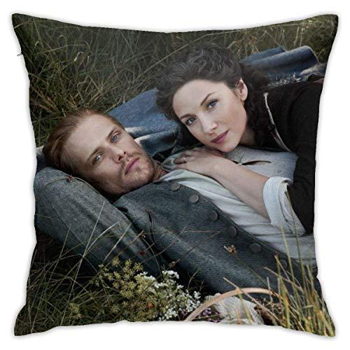 FETEAM Holiday Decor Throw Pillows Funda de Almohada de Felpa Suave Funda de cojín para sofá de Dormitorio ^ A9QR2
