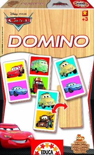 Rocco Giocattoli 21187942 - Cars Domino in Legno