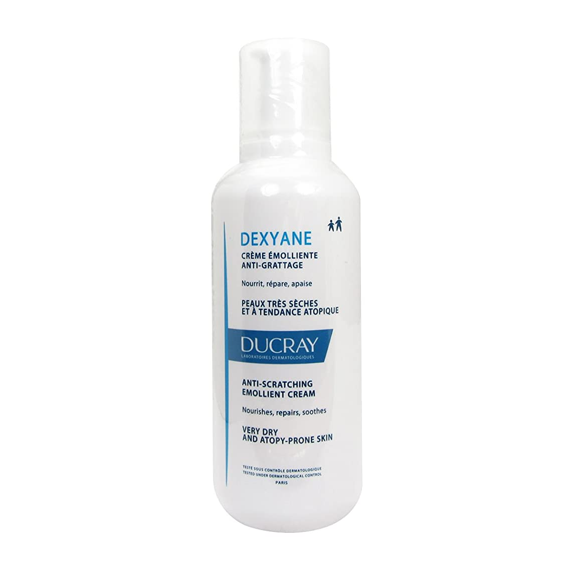 陽気な肉腫彼自身Ducray Dexyane Anti-scratching Emollient Cream 400ml [並行輸入品]