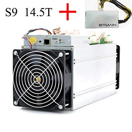Bitmain Antminer S9i/j 14.5T Bitcoin BTC ASIC Miner Include APW3++ PSU Power Supply Unidad de Fuente de alimentación