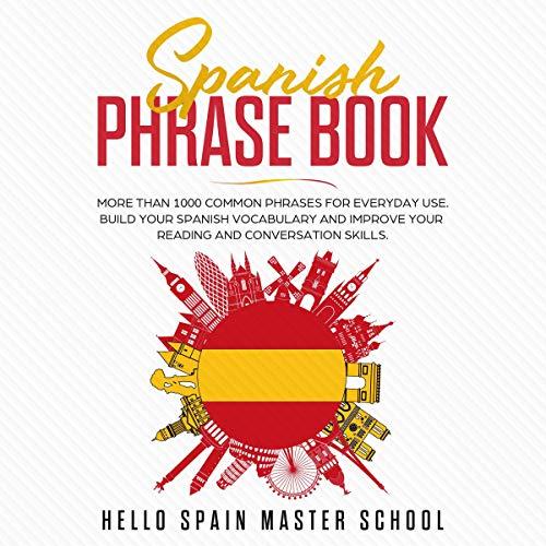 Spanish Phrase Book cover art