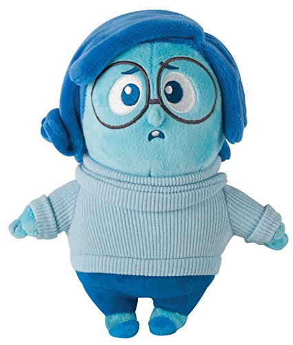 TOMY Disney Pixar Inside Out The Movie – 20,3 cm Soft Plüsch Spielzeug Figur – Traurigkeit