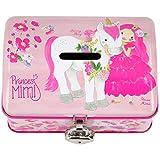 Depesche Hucha de hojalata Princess Mimi 10374, Aprox. 8,7 x 12,1 x 8 cm