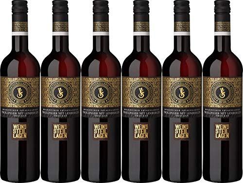 Felsengartenkellerei Besigheim Trollinger mit Lemberger QbA *Wein aus Steillagen* 2019 Trocken (6 x 0.75 l)