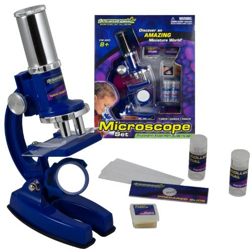 Micro-Science 33 Piece 6 5/8 Microscope Set '