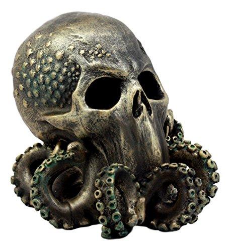 Ebros Ocean Monster Terror Kraken Cthulhu Skull Figurine 6