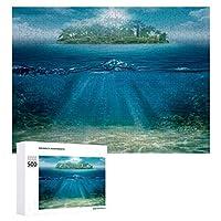 海の孤島 500ピースのパズル木製パズル大人の贈り物子供の誕生日プレゼント1000ピースのパズル