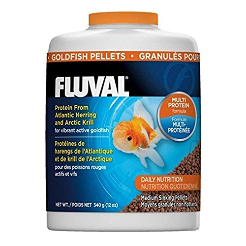 Fluval Goldfish Pellets, Goldfish Food for Vibrant Active Fish.