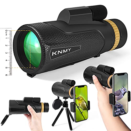 16x50 Téléscope Monoculaire, KNMY Monoculaire Puissant HD Longue Vue Portable, Télescop Adulte...