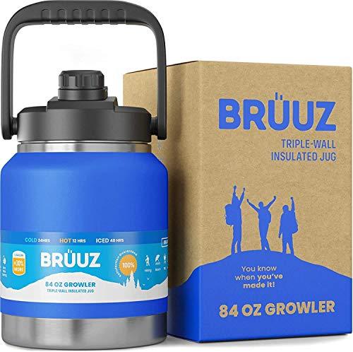 BRUUZ 2/3rd Gallon Big Aussie Growler | Stainless...