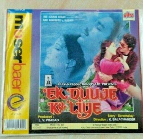 Best Review Of Ek Duuje Ke Liye (1981) ~ Bollywood TOP Best Love Story Hindi Video CD from India
