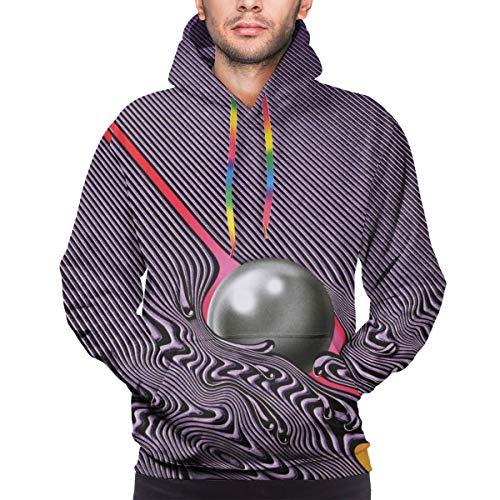 Tame Impala Currents Men's Leisure Hooded SweatshirtL Black