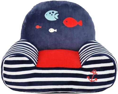 GGHFZL Kids Baby Seat Abnehmbare Abdeckung Plüsch Stuhl Komfortable Kinder Sofa Cartoon & Cute Sofa Spielzeug Plüsch Stuhl Kindergeburtstags Geschenk Größe Mehrfarbig