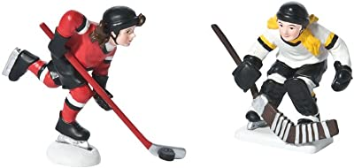 Department 56 Village She Shoots She Scores Accessory Figurine (Set of 2)