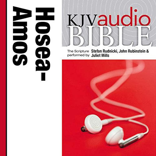 Pure Voice Audio Bible - King James Version, KJV: (23) Hosea, Joel, and Amos cover art