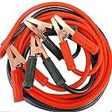 Space Home - Cable de Arranque - Pinzas Auxiliares de Coche - Cable para Batería de Coche - Cable Puente - Incluye Bolsa de Almacenamiento - 1200 AMP