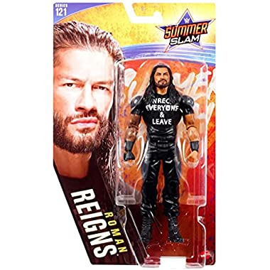 WWE Roman Reigns Action Figure Series 121 Action Figure Posable 6 in Collectible for Ages 6 Years Old and Up