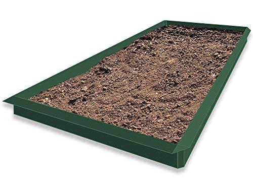 Lust Ideen aus Blech Typ 03 14er Set RAL Moosgrün 10 x 1,0 m Bleche und 4 x Ecken 90° Weitere Auswahlmöglichkeiten
