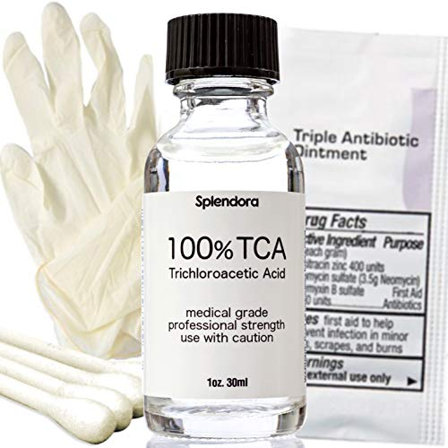 100% TCA Acid Peel (1 oz.) Skin Peel Acid - Tattoo Removal,...