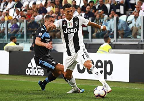 CRISTIANO RONALDO JUVENTUS HOME SHIRT IN ACTIE FOOTBALL POSTER 10799 (A3-A4-A5)