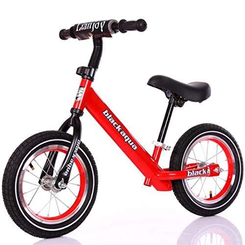 Dsrgwe Vélo Bébé Draisienne,Vélo d'équilibre, Draisienne, Cadre en Acier au Carbone Strider...