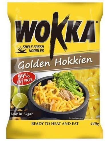 Wokka Nudeln Golden Hokkien Nudeln 440g