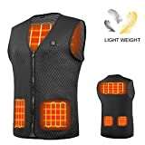 AIMINTSEN Heated Vest Heated Jackets for Men Women USB Charging Electric