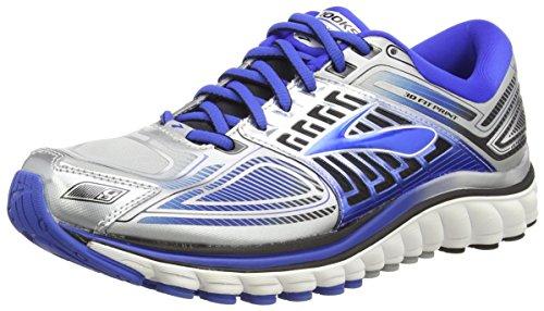 Brooks Men's Glycerin 13 Running Shoe High Risk Red/Black/Nightlife Size 8.5 M US