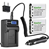 Kastar 2-Pack KLIC-7006 Battery and LCD AC Charger Compatible with Kodak KLIC-7006 LB-012 Battery and Charger, Kodak PixPro FZ51 (KDK-FZ-51BL), PixPro FZ52, PixPro FZ53, PixPro SL5 Smart Lens Cameras