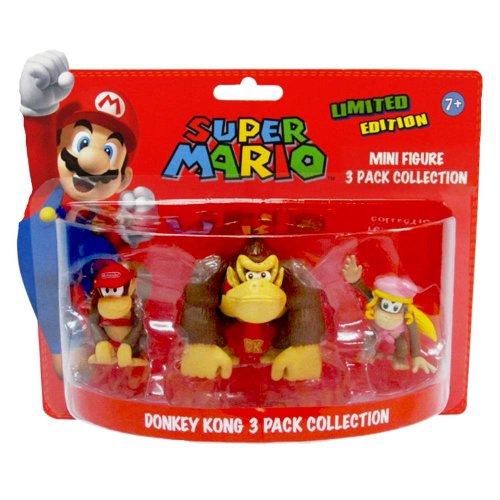 Mario Colección Original de Super Donkey Kong 3 Pack