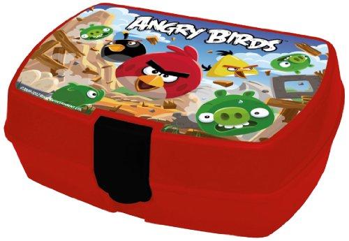 Stor 37174 - Sandwichera Rectangular, diseño Angry Birds