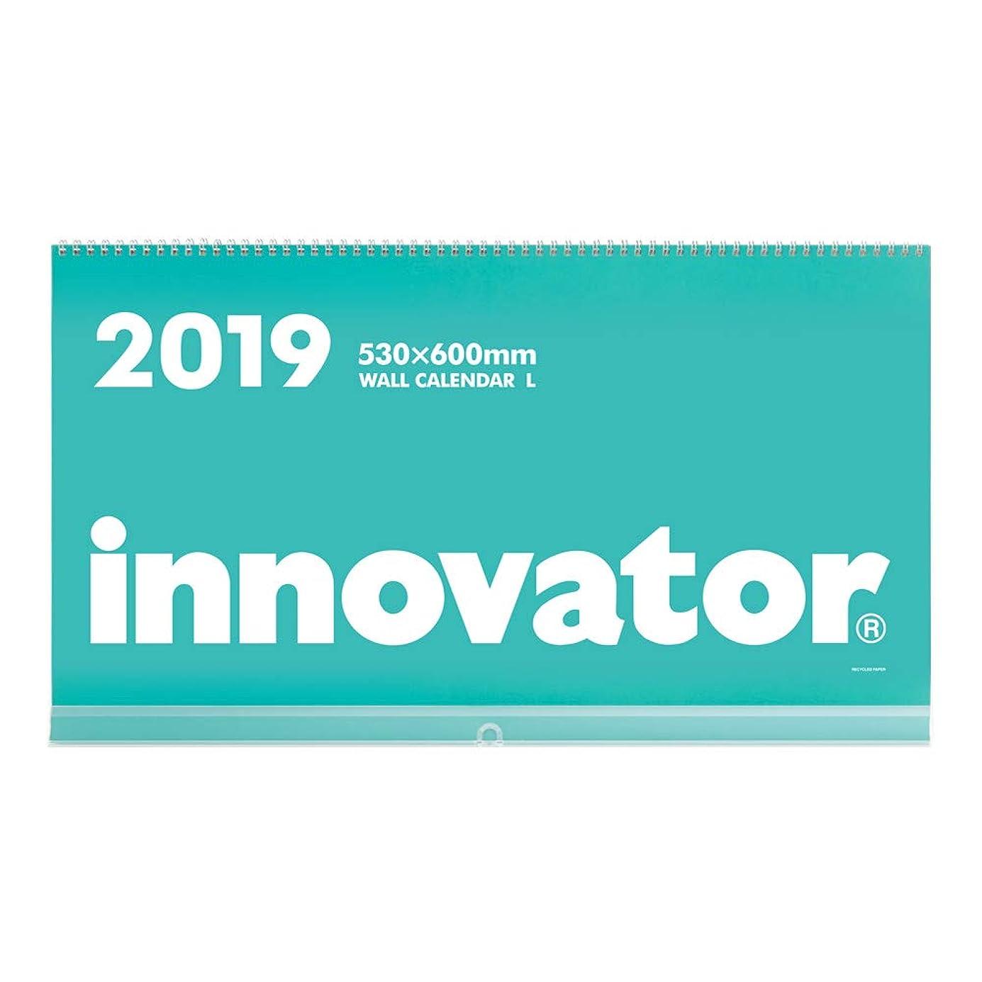 見つけた直面する耳イノベーター 2019年 カレンダー 壁掛 L 30593006
