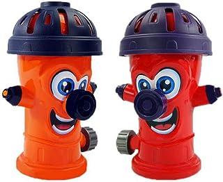 Fovely Rociadores de jardín - Rociadores de césped, rociadores de hidrantes contra Incendios Rotación de Verano Juguete de Agua al Aire Libre para regar el jardín de césped Patio Niños Jugando