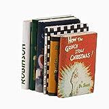 Hilai Newin Sterne 01:12 Miniatur Bunte Bücher Dollhouse Dekoration Zubehör Ornament Bücher für...