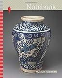 Notebook: Vase Depicting a Phoenixlike Bird, 1700/50, Talavera poblana, Puebla, Mexico, Puebla, Tin-glazed earthenware