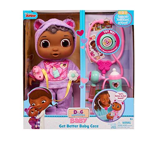 Doc McStuffins Disney Junior Get Better Baby Cece, Multi-Color (92058)