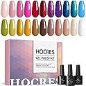 25-Pack HOCRES Gel Nail Polish Kit