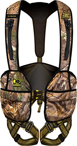Hunter Safety System Hybrid Flex Safety Harness with ElimiShield Scent Control Technology (NEW for 2017), Large/X-Large/175-250 lbs.