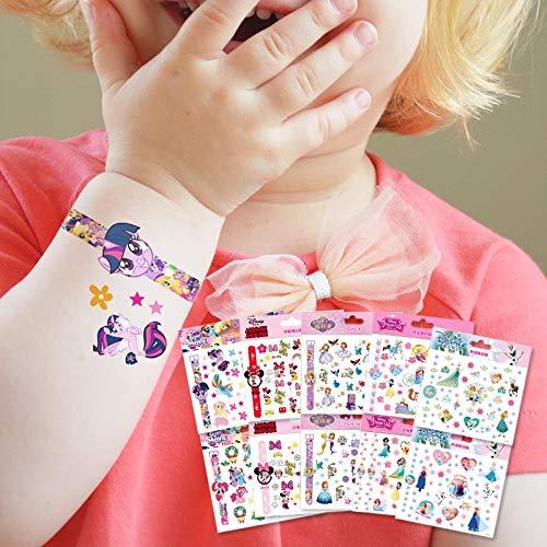 BLOUR Genuino Disney Sophia Mickey Minnie Frozen Princesa Tatuaje Pegatinas Personalizado Impermeable Reloj Pegatinas Evento para niñas Regalos