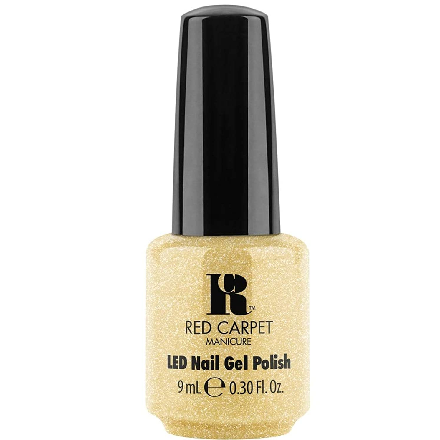 ルーフ雨の上下するRed Carpet Manicure - LED Nail Gel Polish - Mirror Check - 0.3oz / 9ml