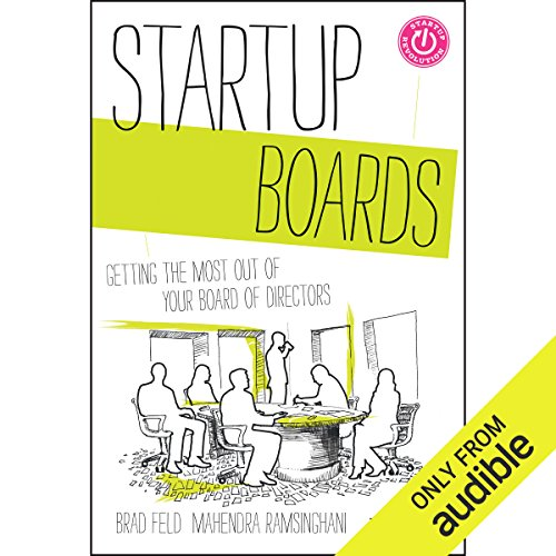 Startup Boards audiobook cover art