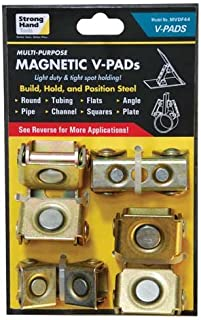 Strong hand Tools MVDF44 Adjustable Magnetic V-Pads, 4Piece