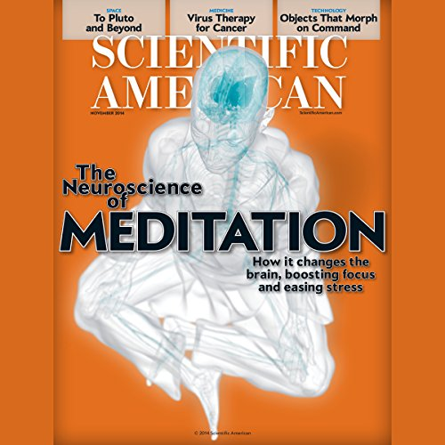 Scientific American, November 2014 audiobook cover art