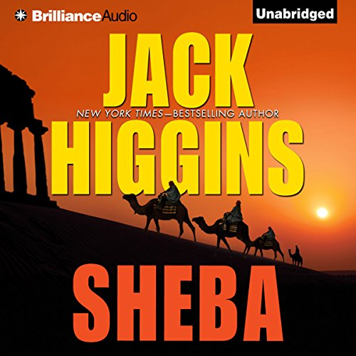 Sheba audiobook cover art