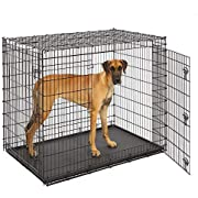 MidWest Homes for Pets XXL Giant Dog Crate   54-Inch Long Ginormous Dog Crate Ideal for a Great Dane, Mastiff, St. Bernard & Other XXL Dog Breeds