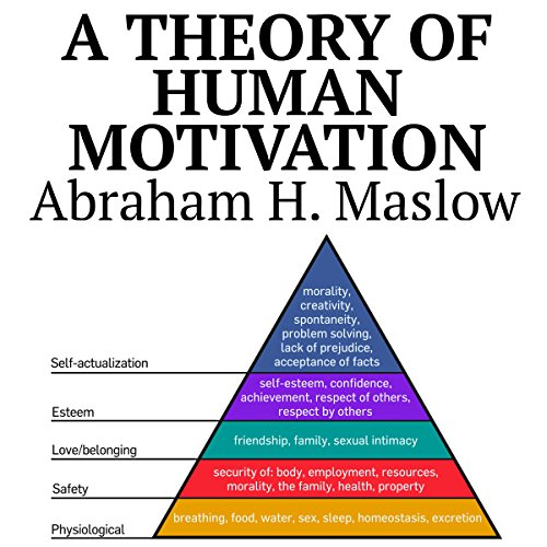 A Theory of Human Motivation audiobook cover art