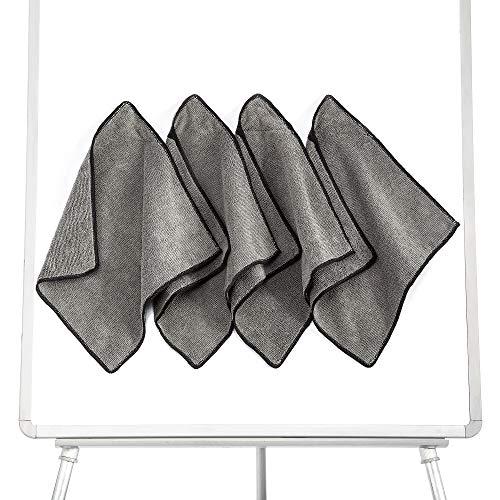 GRANNUS Magnetic Whiteboard Eraser - Dry Erase Eraser - Dry Erasers for White Board - Magnetic Dry Eraser - Dry Erase Board Erasers - Pack of 4