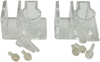 naissant 【2個セット】 パイプ ホースホルダー アクアリウム ホース パイプ 水槽 固定 取り付け具