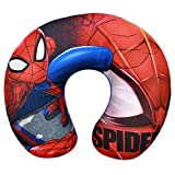 Spiderman pour Enfants Coussin de Cou Oreiller Rouge de Voyage,...